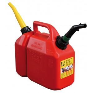 Tanica per benzina - lt. 6+2