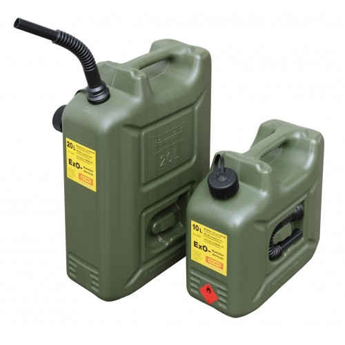 Petrol canister ADR approved lt. 10