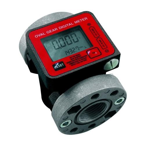 Oval gear electronic flow meters for oil mod. K 600/3
