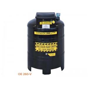 Contenitore per olio esausto in polietilene da 260 litri