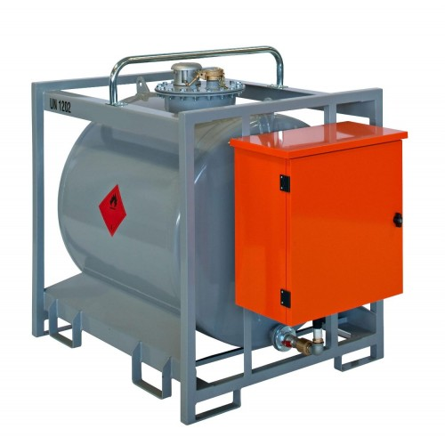 Transportable Tank for Diesel cap. lt 600 ADR apporved