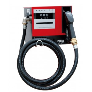 Diesel fuel dispenser for non commercial use - flow rate 50 lt./min.