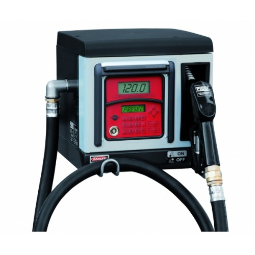 Diesel fuel dispenser with multiuser control - 120 users