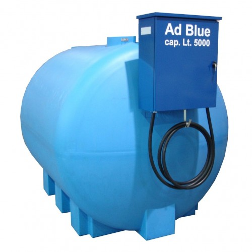 AdBlue Tank with dispenser unit - Cap. lt. 5000