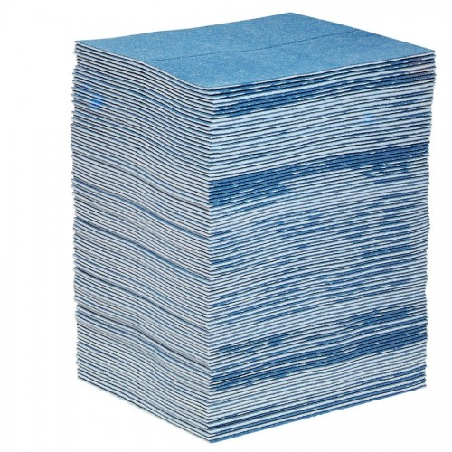 Universal absorbent mats - Double-thick