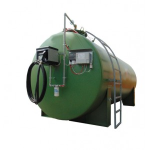 Single wall tank for Diesel cap. lt. 995 - Blu Tank