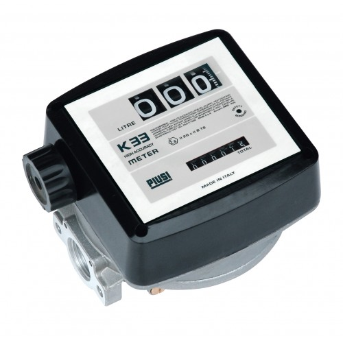 ATEX/IECEx-certified transfer unit for gasoline intended for non-commercial use.