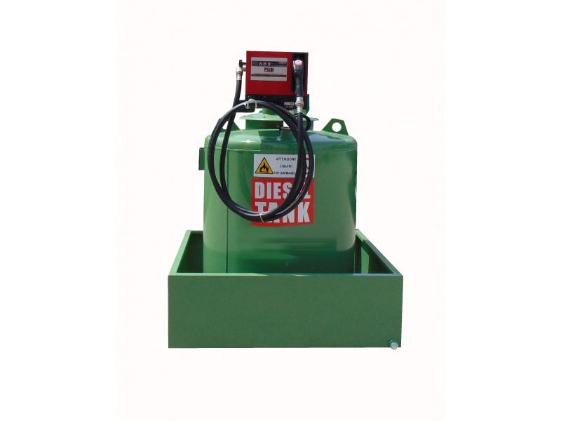 Single wall tank for Diesel Cap. lt. 490