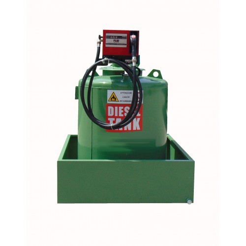 Single wall tank for Diesel Cap. lt. 490